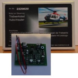 Product afbeelding MEF figuren Elektronica Module helikopter