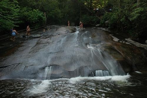 Sliding Rock Slippery Nc