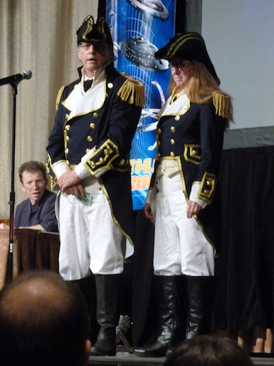 Oficiais da Marinha Real em Generations