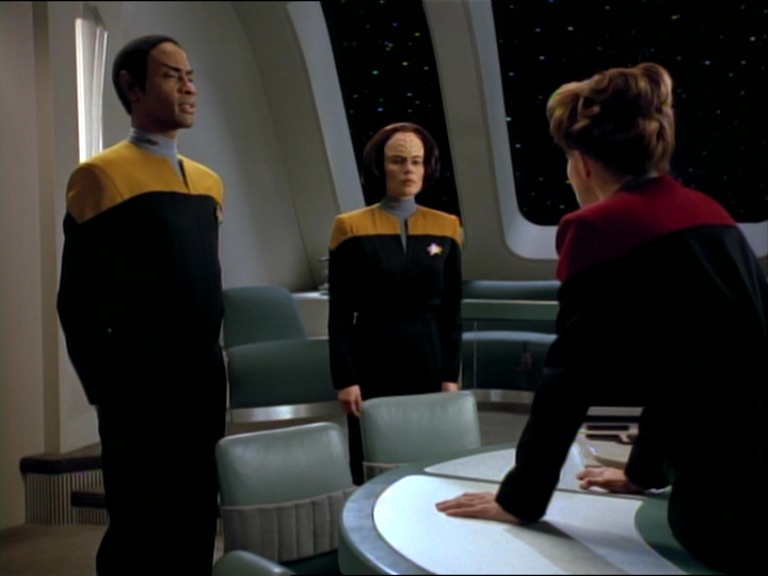 Janeway, Tuvok e B'Elanna