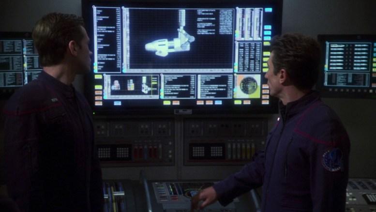 Reed testando canhões Enterprise
