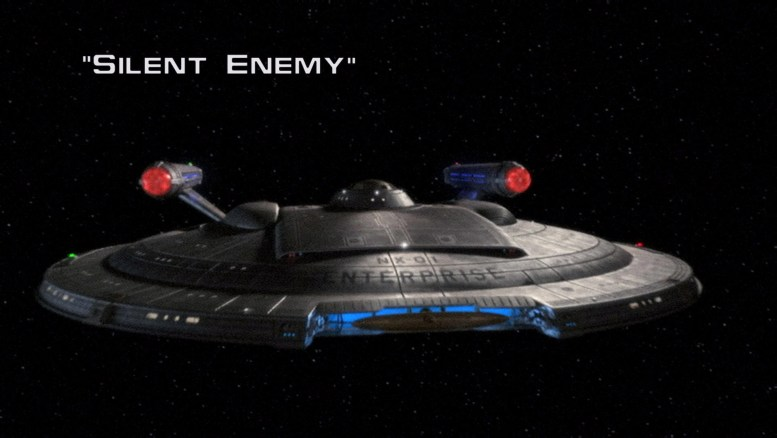 Title Card Enterprise 1x11 Silent Enemy