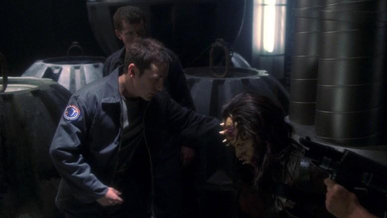 Ryan com prisioneiro Nausicaan