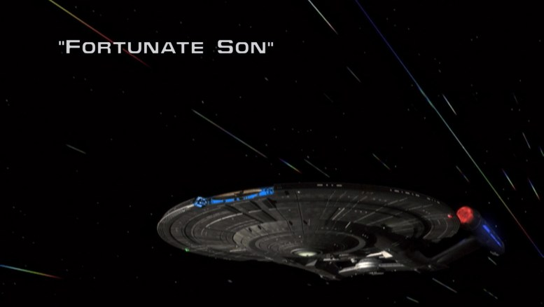 Title card Enterprise 1x09 Fortunate Son
