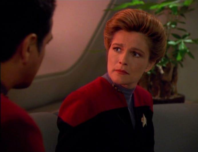 Chakotay e Janeway