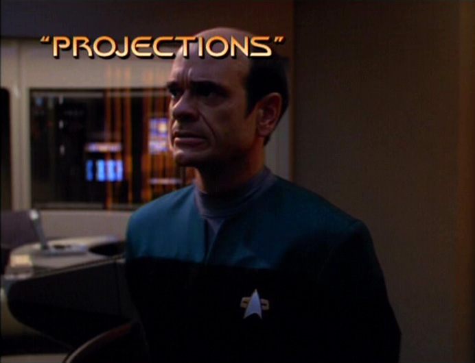 Projections title card