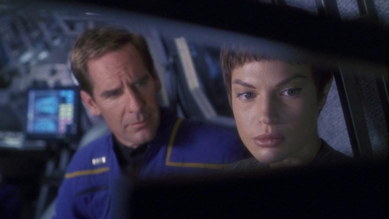 Archer e T'Pol no Shuttlepod