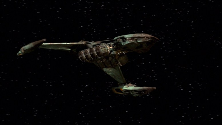 Nave klingon em Marauders