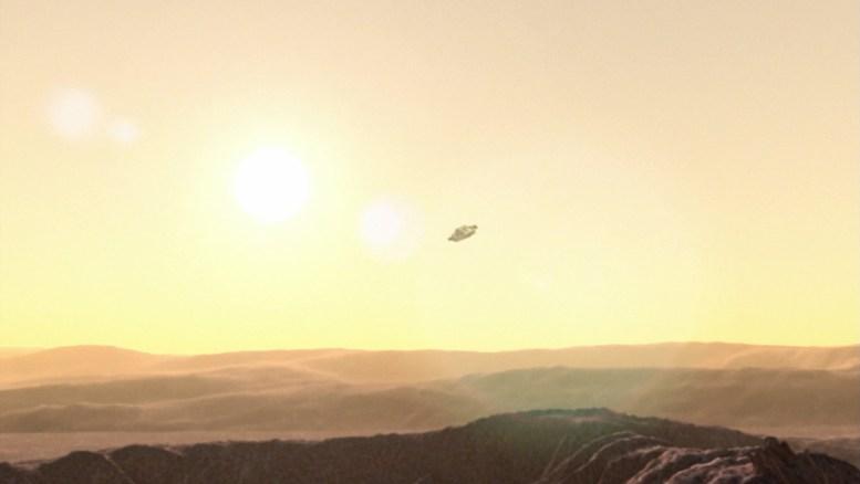 Sistema com 3 sóis em Enterprise Dawn