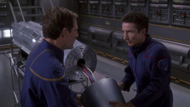 Reed e Archer com torpedo
