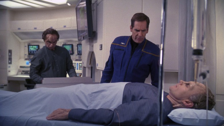 Denobulano Hudak ferido na Enterprise