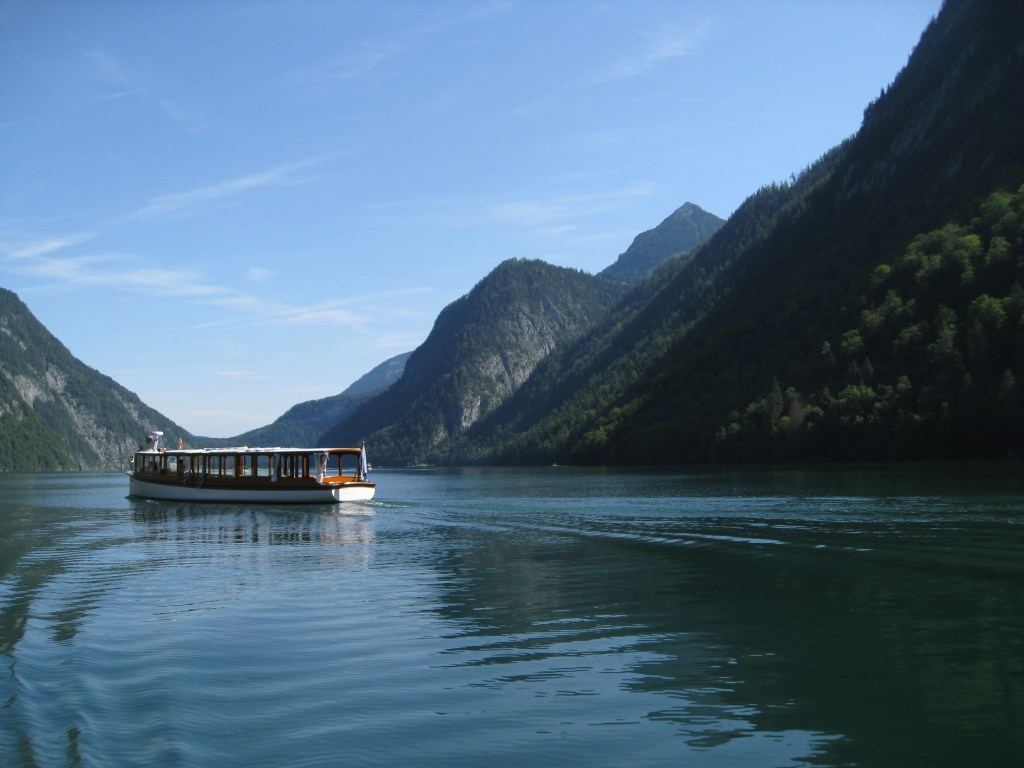 The tranquil beauty of Königssee