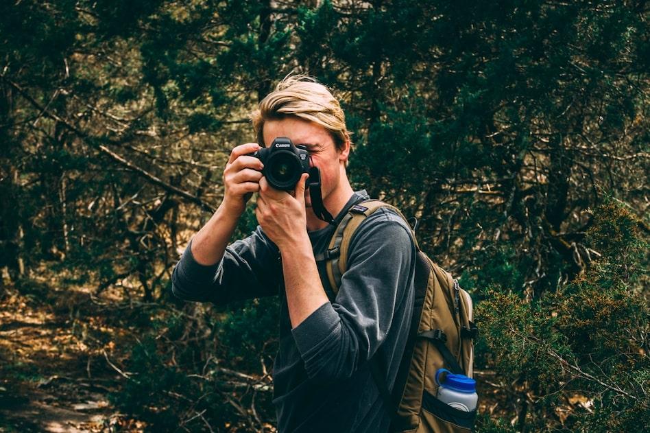 photo en randonnée - réussir photos randonnée