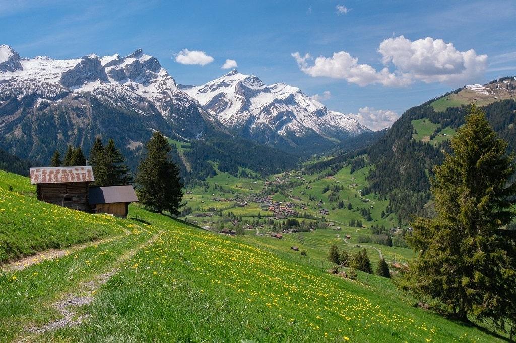 Paysage des Alpes du Nord