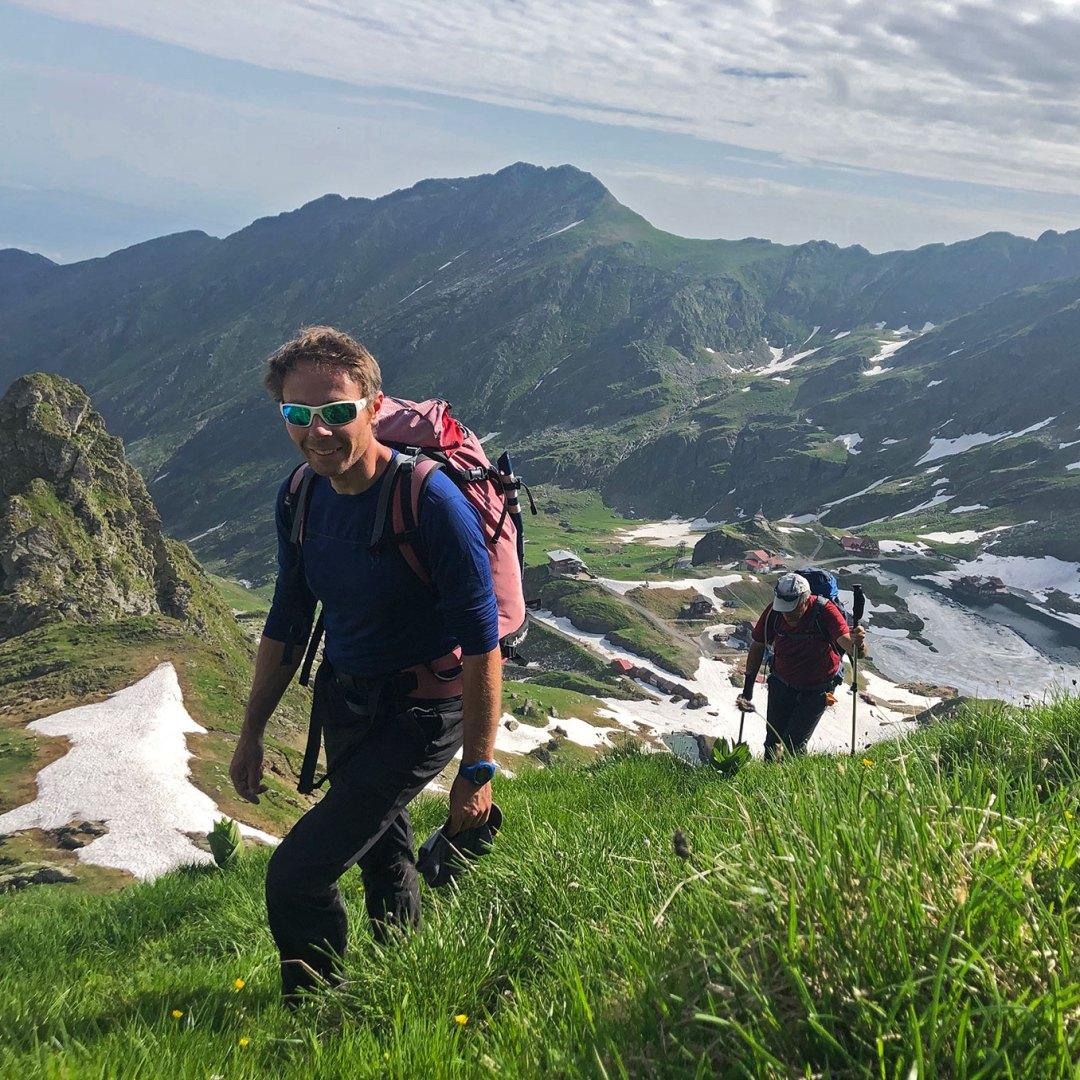 Pierrick - accompagnateur en montagne sur le Tour du Mont Blanc