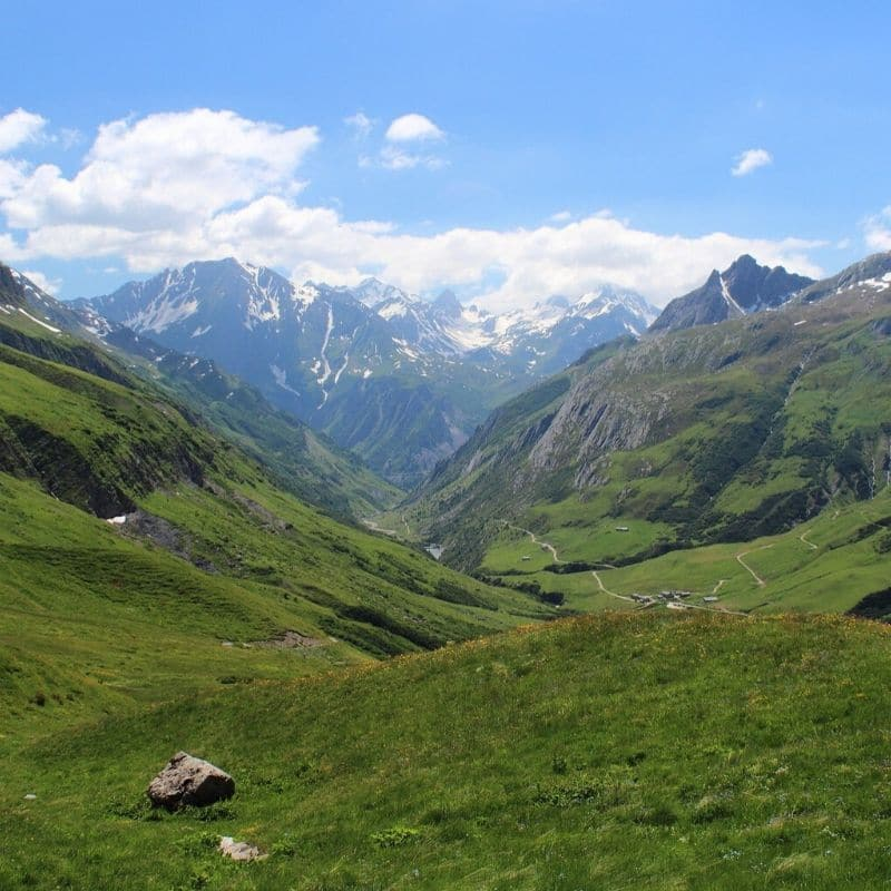 Tour du Mont Blanc sept jours