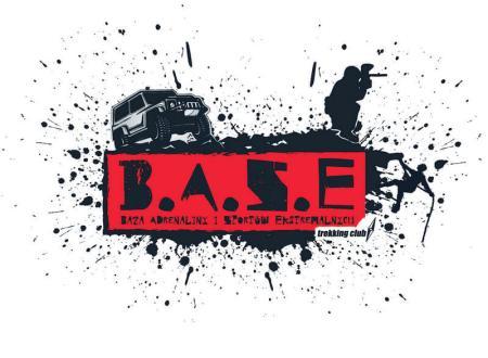 logo B.A.S.E. Katowice, poligonu paintballowego