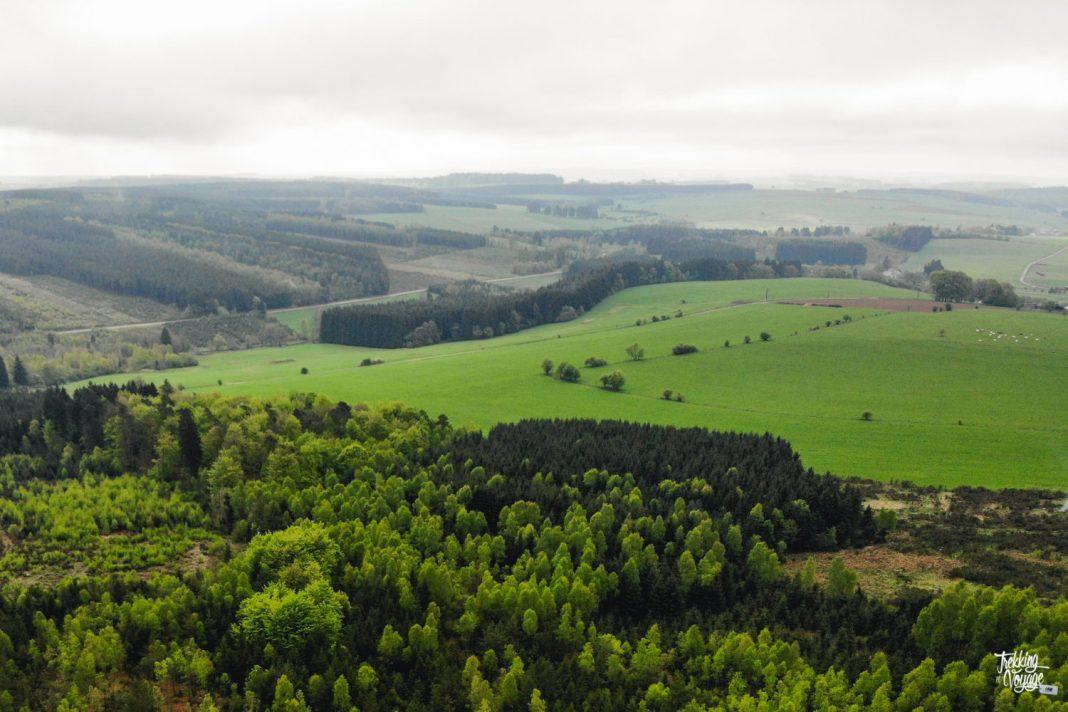 Ardenne sainte-ode randonnée