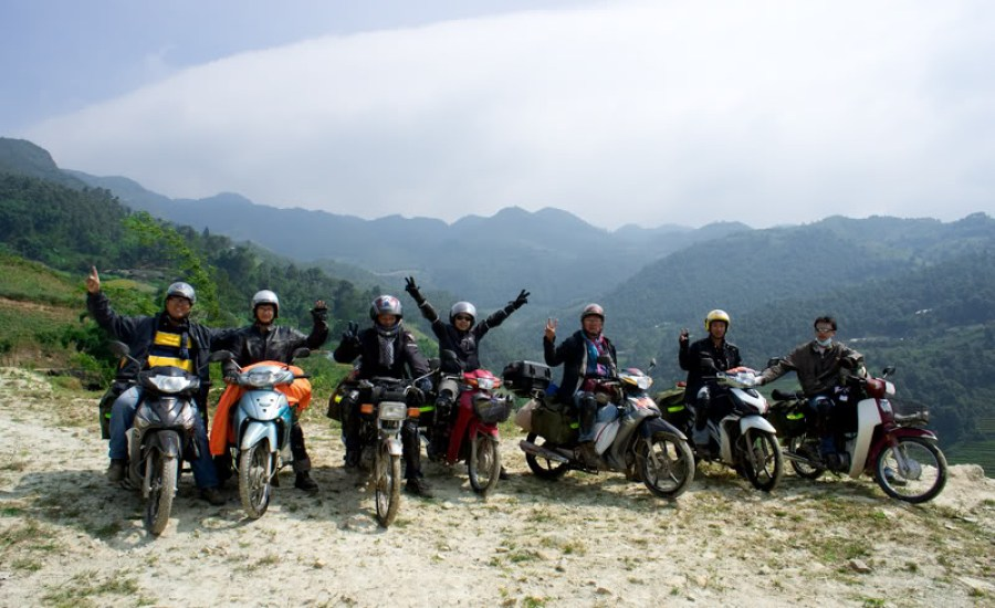 Travelling-Sapa-by-motorbike