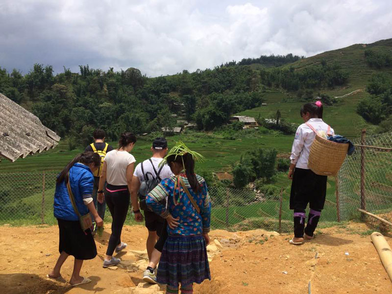 Happy Trekking, Happy Trekking in Sapa, Sapa trekking tours