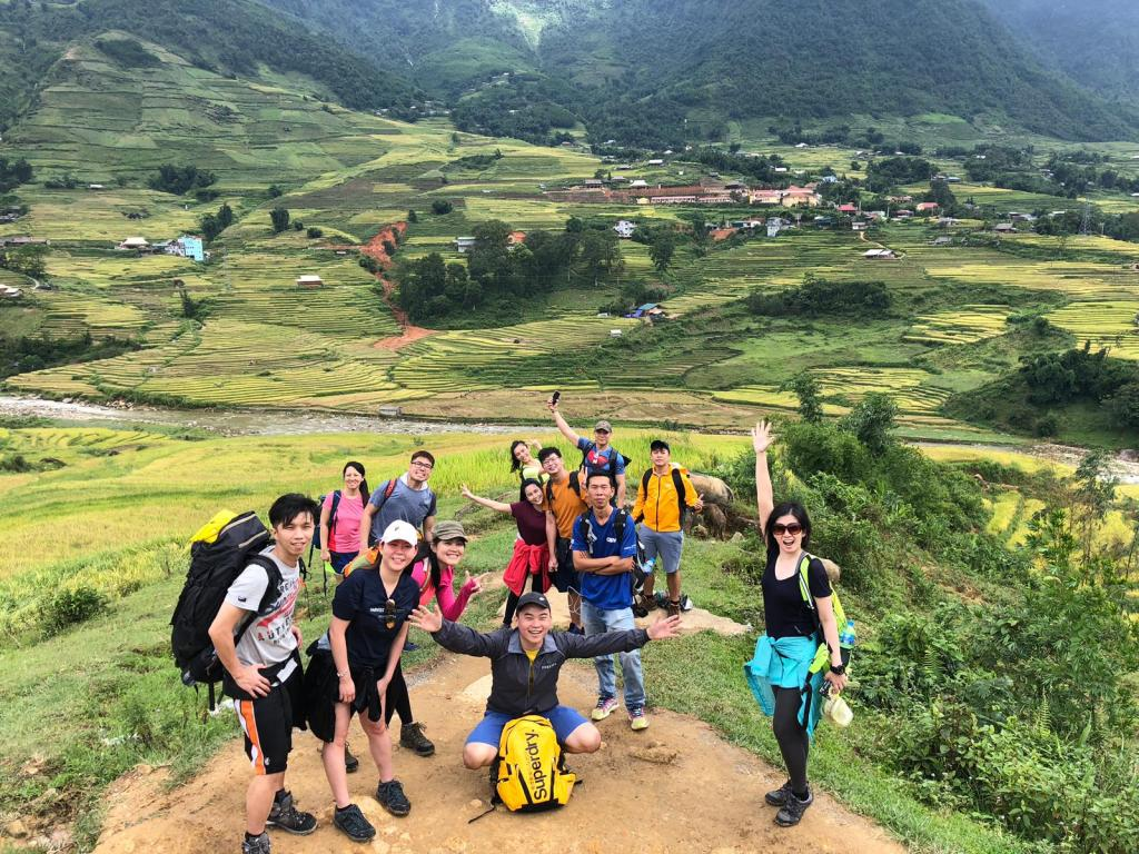 We Made It To The Roof Top Of Indochina! | Trekking Sapa Tours