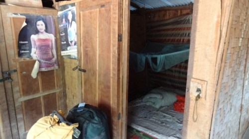 Our 'Guesthouse Bedroom' - Hat Sa, Laos