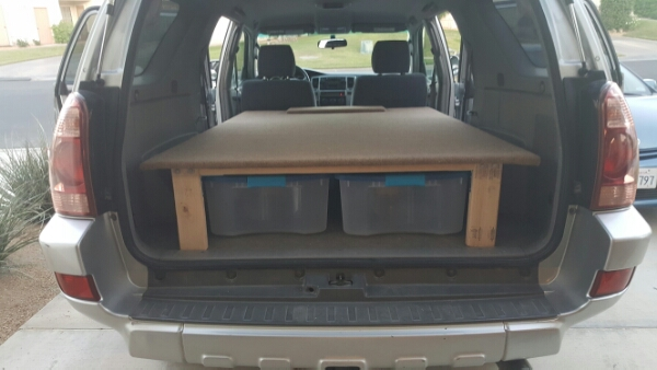 How We Converted Our 4Runner Into A Camper