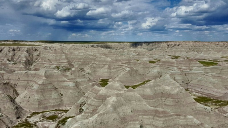 Hiking Under the Sea: Badlands National Park
