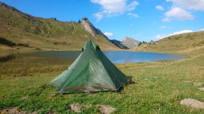The Nigor tent WickiUp 3