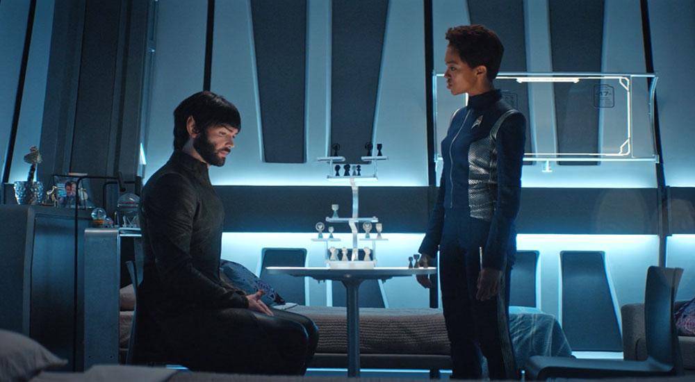 Spock y Michael Burnham