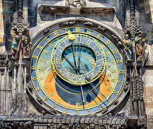 Astronomical Clock In Prague Czech Republic