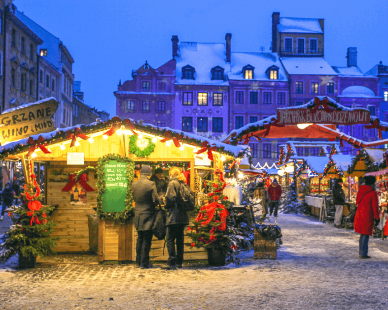 Warsaw christmas markets