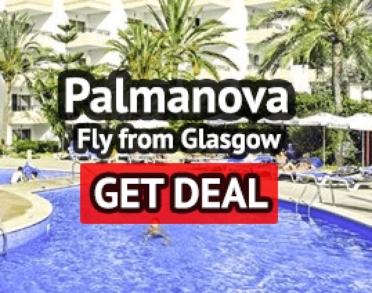 Palmanova holiday from Glasgow