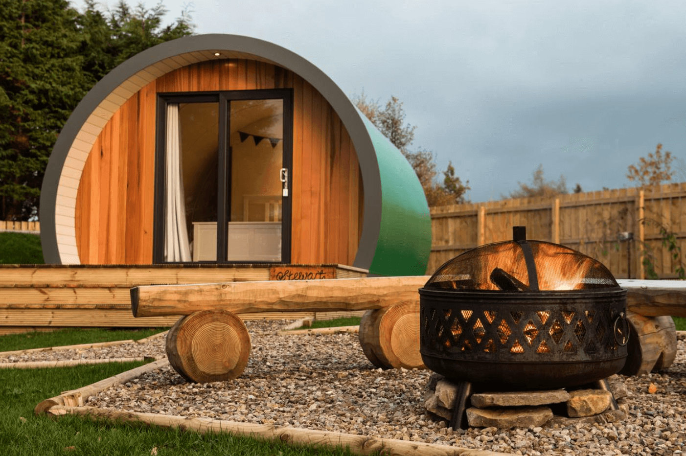 Glamping in the highlands