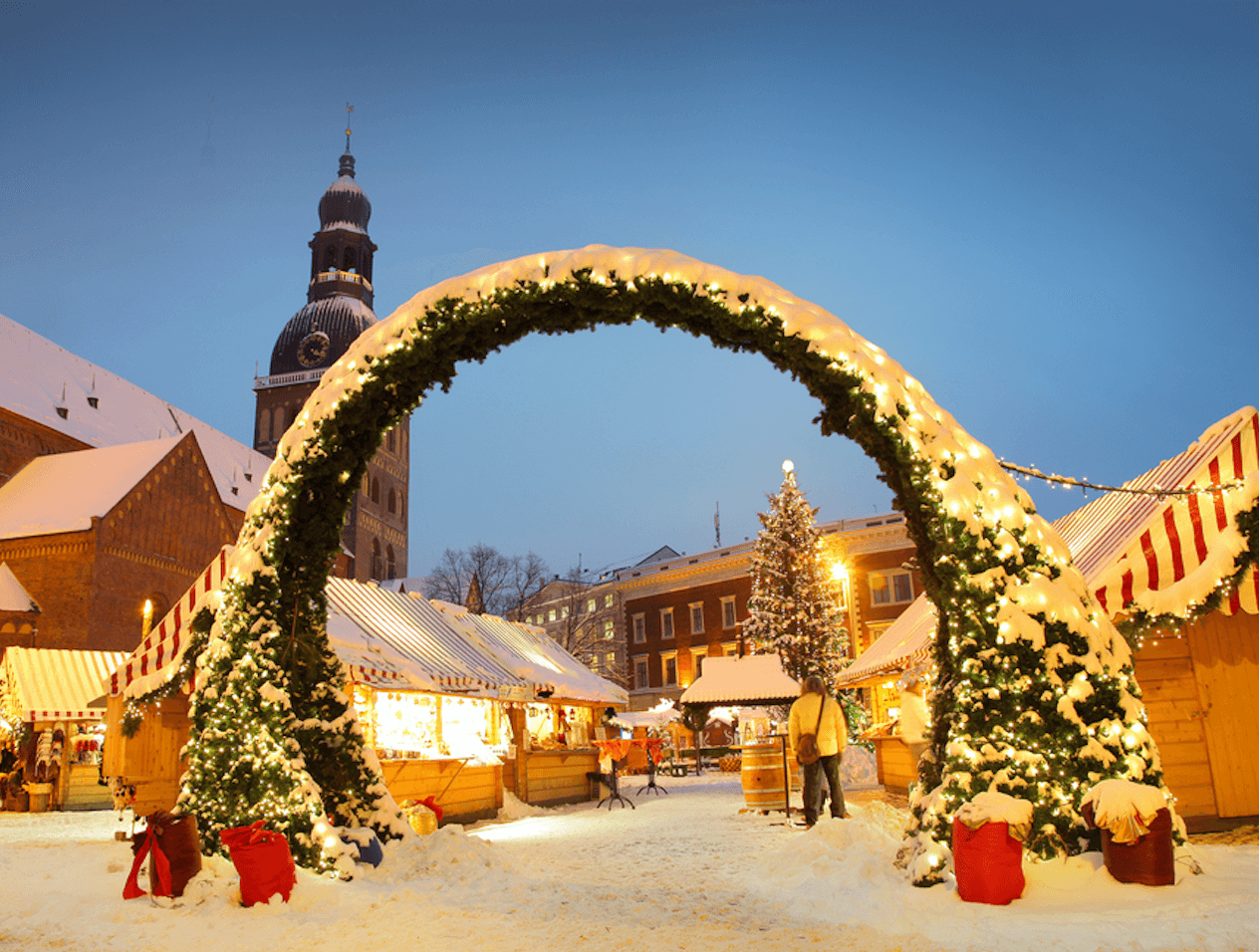 Riga Christmas Market break