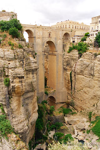 The New Bridge at Ronda, Spain