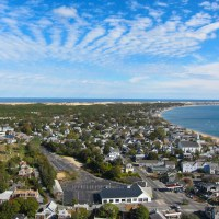 Provincetown to the south