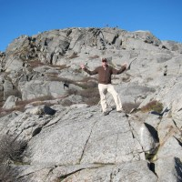 Rich on Mt Monadnock