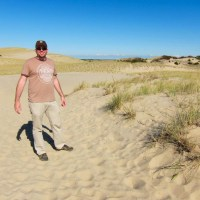 Rich in the sand dunes
