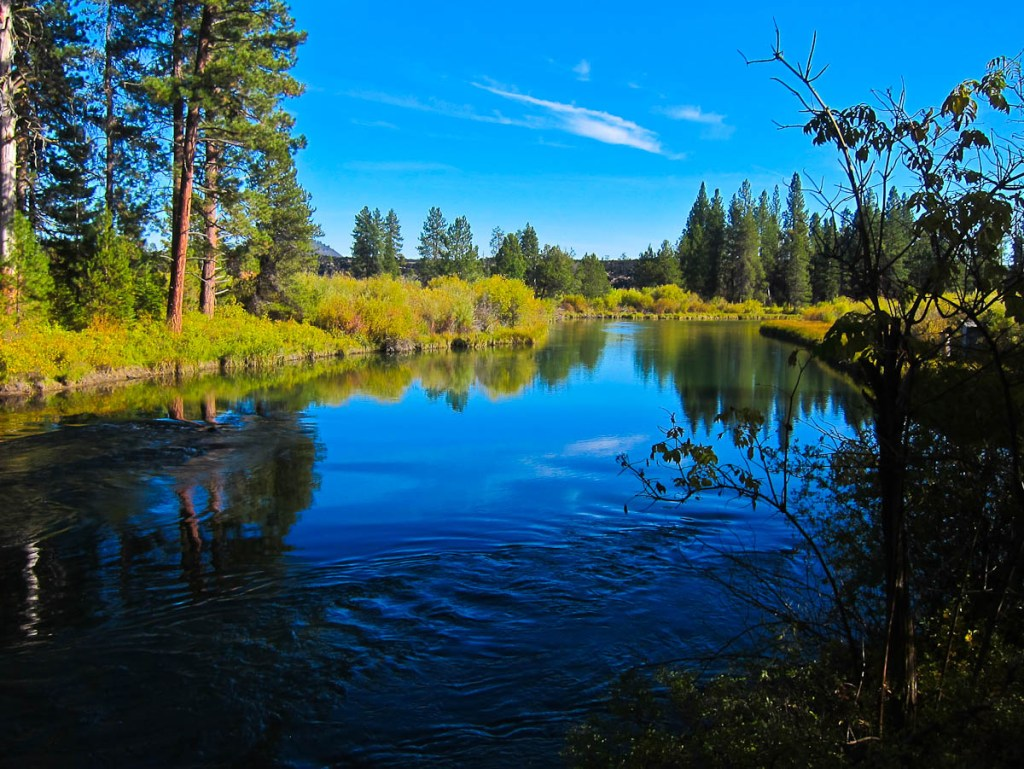 The Deschutes River