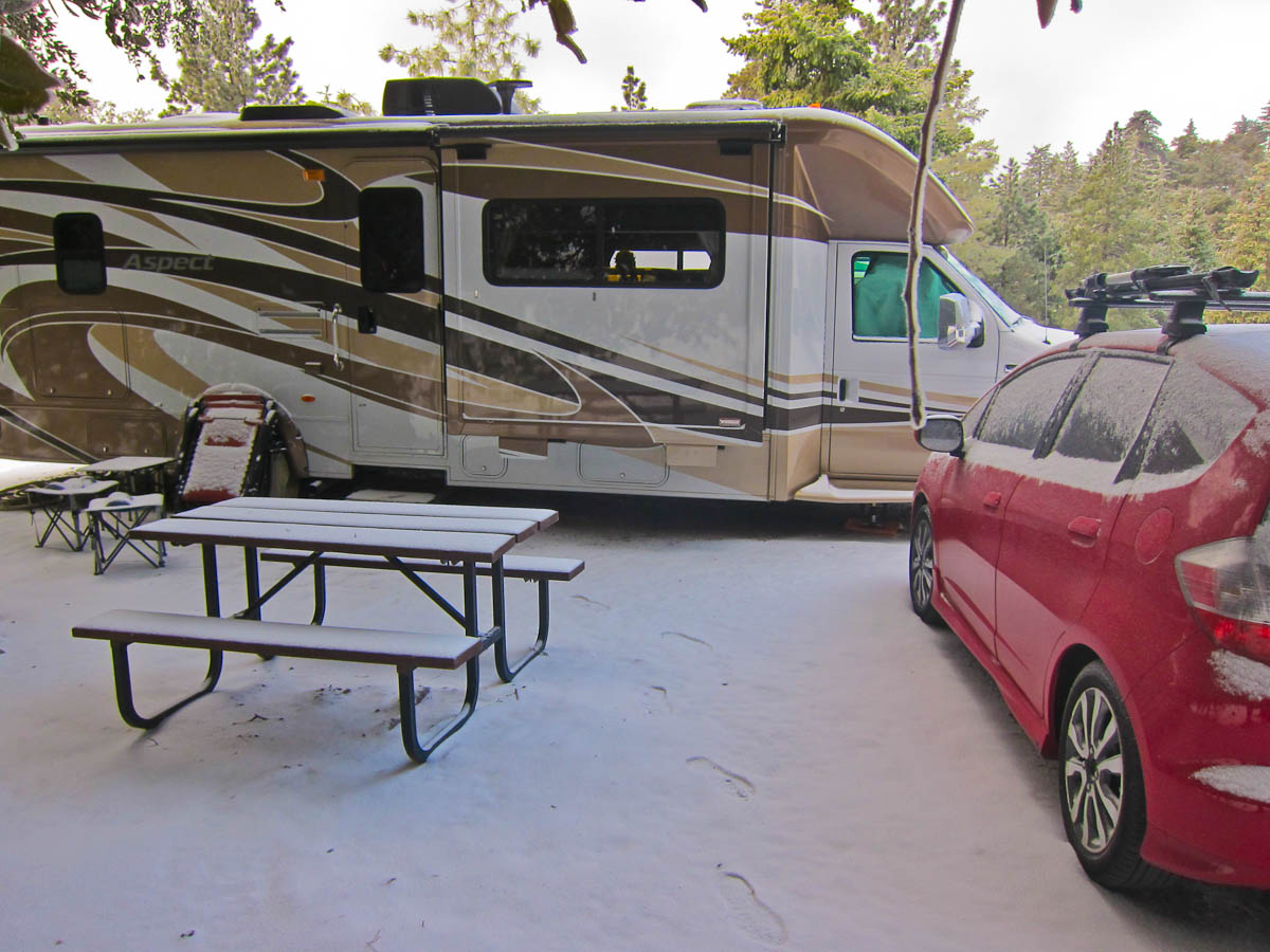 RV Camping in Idyllwild, CA - Trek With Us