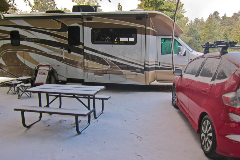 RV Camping in Idyllwild, CA
