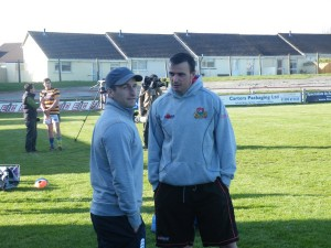 Gavin Cattle chats to Lewis Vinnicombe