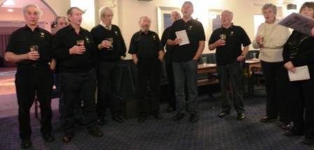 cadgwith singers dinner 2015