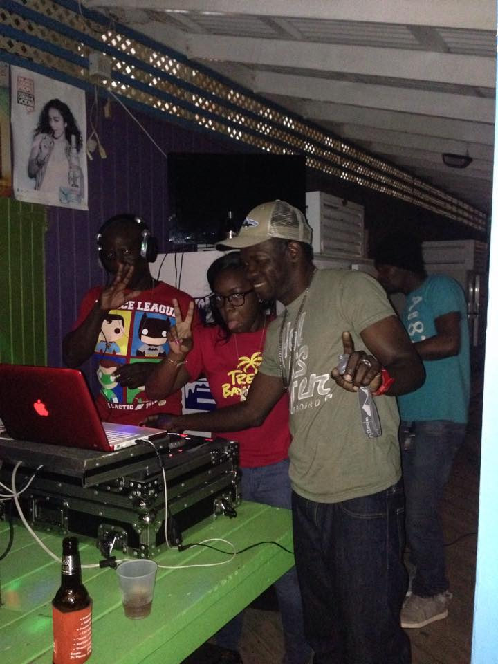 local dj's at trellis bay new years party