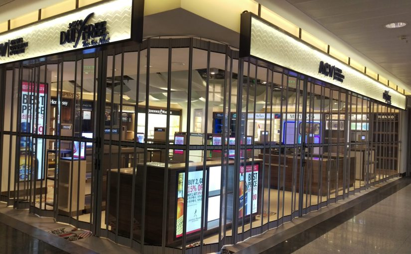 ATDC Premium Grade Shopfront Doors for DFS Group in Vietnam