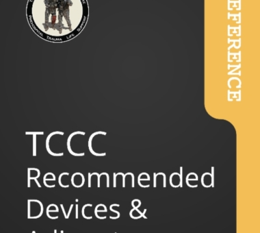 CoTCCC: neue Empfehlungen für Tourniquets und weitere Devices