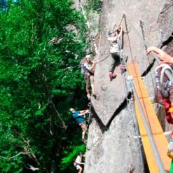 Via Ferrata climbing - Mont Tremblant