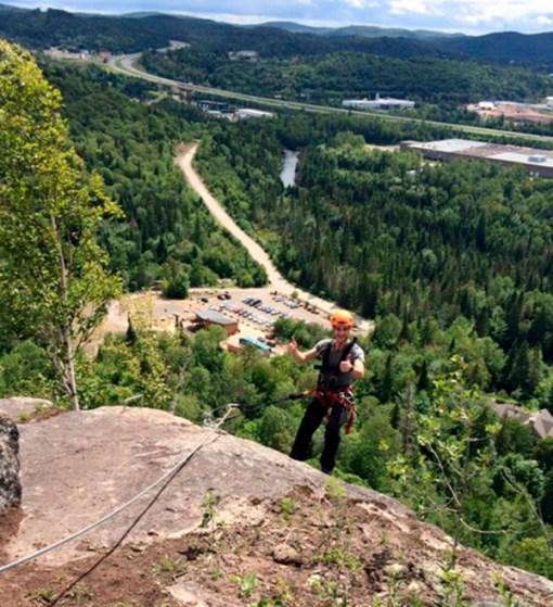Via Ferrata Climbing Ziplines - Mont Tremblant