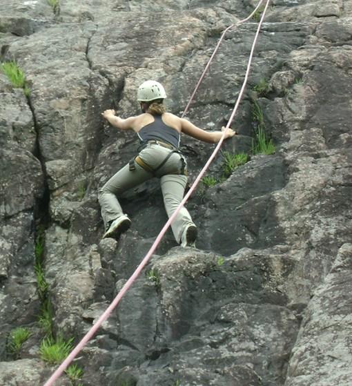 Rock climbing – Mont Tremblant